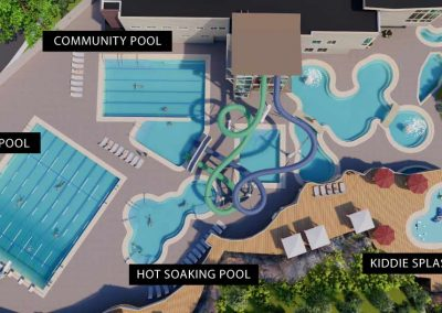 Rendering of all the pool for Capital Campaign for Old Town Hot Springs.